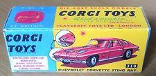 Corgi 310 Chevrolet Corvette Sting-Ray Empty Repro Box Only
