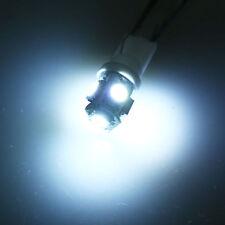 2pcs 5050 White T10 Wedge 5SMD 5050 LED Light Bulbs W5W 2825 158 192 168 194
