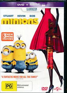Minions DVD NEW Region 4