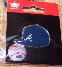 Atlanta Braves logo baseball cap / hat lapel pin MLB