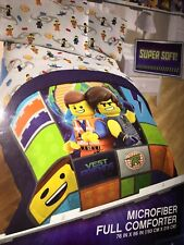 Lego Movie 2 Galactic Duo Microfiber Full Sized Comforter Bedding And Sheet Set