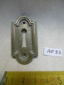 etc.. Lot 4 entrée de serrure coq de style Louis XVI fer  pour meuble,tiroir
