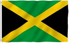 Anley Jamaican Flag Jamaica Banner Polyester 3x5 Foot Country Flags