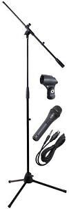 Professional Microphone & Stand / Boom with XLR Lead, NJSKIT9