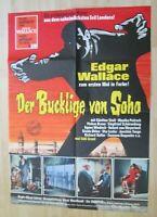 Filmplakat - Der Bucklige von Soho ( Edgar Wallace , Eddie Arent )