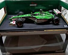 BUILT 1/18 JAGUAR R1 F1 2000 E. IRVINE Hot Wheels Racing rare
