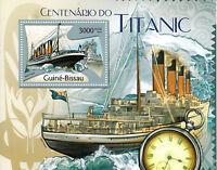 Guinea-Bissau 2012 MNH Titanic Centenary 1v S/S Boats Ships Nautical Stamps