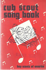 CUB SCOUT SONG BOOK. 1955