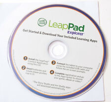 Leap Frog LeapPad Explorer Getting Started CD-ROM 2011 750-10129-B - USED A15