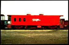 Missouri Pacific railroad Drover's Caboose train railroad postcard