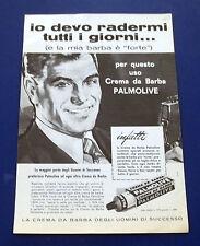 A620-Advertising Pubblicità-1960-CREMA DA BARBA PALMOLIVE