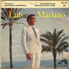 "LUIS MARIANO ""PATRICIA"" 50'S EP LA VOIX DE SON MAITRE 397"