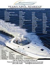 1994 -1999 Maxum 3200SCR Sunbrella Boat Canvas Enclosure Cover