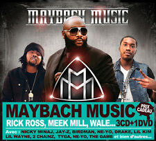 MMG MAYBACH MUSIC GROUP Best of LIMITED COLLECTOR BOX 3 CDS + 1 DVD FREE SHIP
