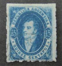 nystamps Argentina Stamp # 13 Used $150   n20y062
