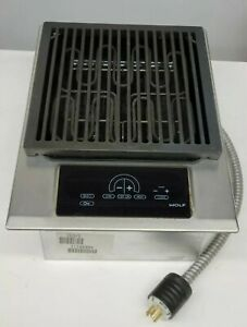 """Wolf IG15/S 15"""" Electric Grill Module"""