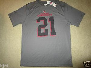 Patrick Peterson #21 Arizona Cardinals NFL TX3 Cool Training Shirt LG L NEW