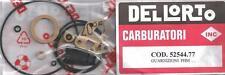 Dellorto PHM with pump, suffixes H L M P R T S Z carburetor gasket set  52544-77