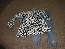 JUICY COUTURE 18-24 LEOPARD CHEETAH DRESS AND LEGGINGS