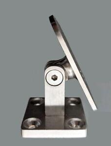 Modern Adjustable Handrail Bracket - Stainless Steel 304