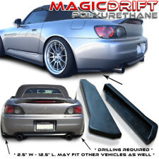 Universal Fit JDM Rear Under Bumper Lip Side Diffuser Splash Guard Mud Panel