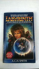Labyrinth First Edition 1986 Paperback book by A. C. H. Smith - color pictures