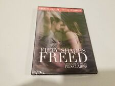 Fifty Shades Freed - Unrated Edition (DVD, 2018) New