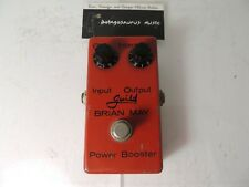 Vintage Guild Brian May Power Booster Treble Boost Effects Pedal RARE