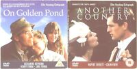 2 FILMS = ANOTHER COUNTRY & ON GOLDEN POND = VGC PROMO CERT 15