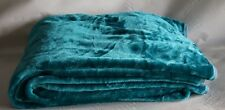 Fur Faux Throw Mink Teal Throws Sofa Blanket Bed Size Double King Single Soft Large (150 Cm X 200 Cm)