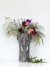 More details for elephant flower vase by quail ceramics wild animal vase