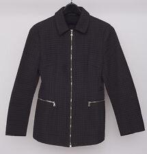 Prada: Women's Quilted Black Nylon Jacket (Large)