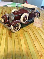 Franklin Mint 1925 Hispano-Suiza Kellner H6B 1:24