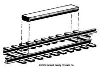 Permanent magnet between-the-rails non-delayed Uncoupler - Kadee 312