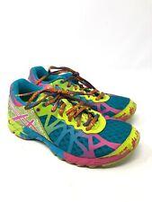 ASICS Gel Noosa Tri 9 Womens Size 6.5 Neon Yellow Pink Running Shoe