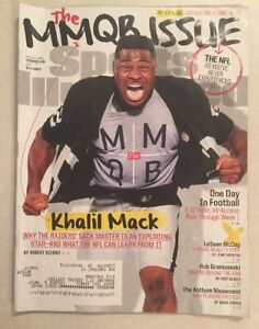 Khalil Mack Oakland Raiders Sports Illustrated