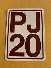 Pearl Jam PJ20 Sticker