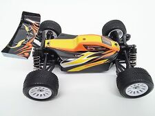 1/18 Scale Dart XB Brushless RTR w/ 25A ESC, 4200KV Motor Orange and yellow