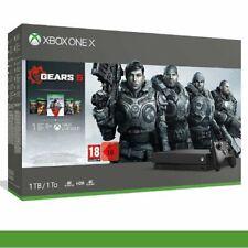 CONSOLE MICROSOFT XBOX ONE X 1TB 4K HDR NUOVO ITALIA + Gears OF War 5