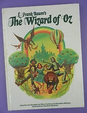 L Frank Baum's  The Wizard of Oz - Cushing & Williams,Illustrated Nankivel 1978