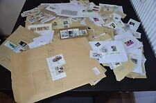 Bund Sammlung, 100 Gramm verschiedene Briefmarken, mittlere Nominale KW € 100