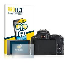 Canon EOS 200D, 2 x BROTECT® HD-Clear Screen Protector, hard-coated