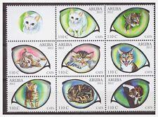 Aruba 2012 Katten Cats Katze MNH