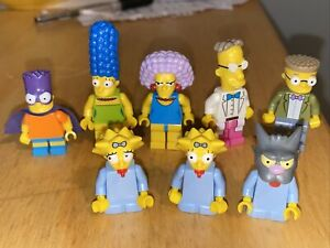 Lego Simpsons Maggie Bartman Marge Smithers Selma Frink Collectible  Minifigures
