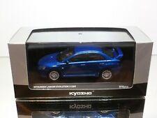 KYOSHO 03492BL MITSUBISHI LANCER EVOLUTION X GSR - BLUE 1:43 - MINT IN BOX