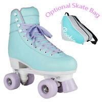 Rookie Bubblegum Quad Roller Skates Girls Womens - Optional Skate Bag