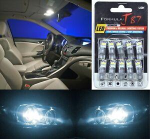 LED 3030 Light White 6000K 168 Ten Bulbs Front Side Marker Parking Lamp JDM