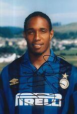 INTER Milan firmato a mano Paul Ince 12x8 foto.