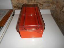 Ancienne boite vintage rangement cassettes années 70