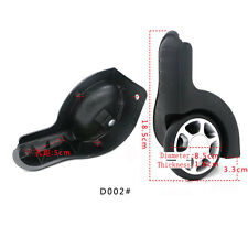 1 pair Replacement luggage Wheels Suitcase Wheel Replacement Repair kit